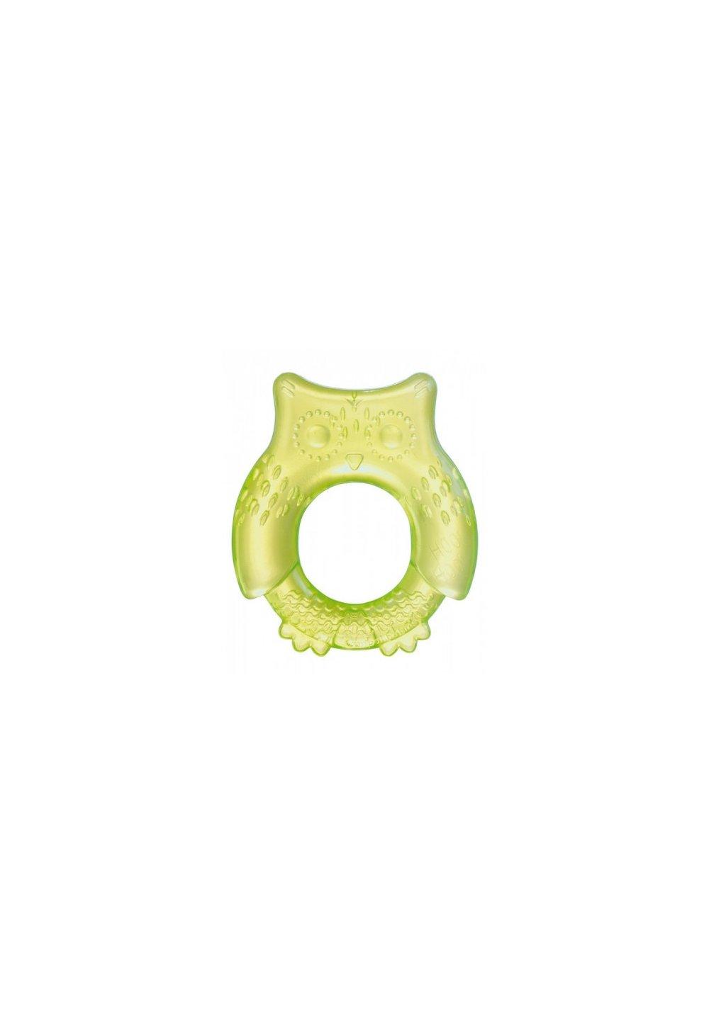 Jucarie dentitie, figurina bufnita verde 74/016 imagine