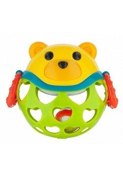 Jucarie interactiva cu sunatoare, ursulet verde