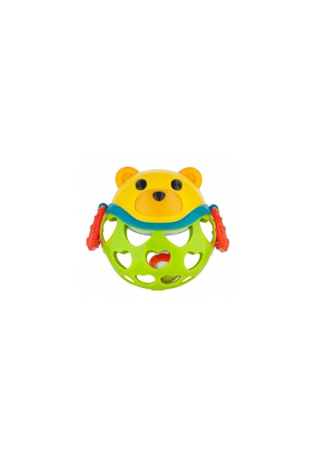 Jucarie interactiva cu sunatoare, ursulet verde imagine