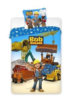 Lenjerie de pat, Bob the builder, 160 x 200 cm