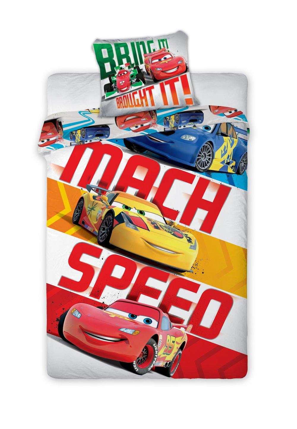 Lenjerie de pat, Mach speed, 160 x 200 cm imagine