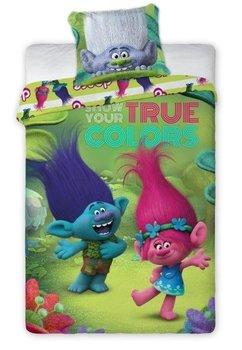 Lenjerie de pat, Trolls, True colors, 140x200cm