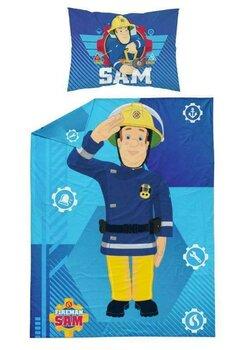 Lenjerie de pat, Pompierul Sam, 100 x 135 cm
