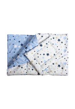 Lenjerie patut, 2 piese, stelutele albastre, 120 x 60 cm