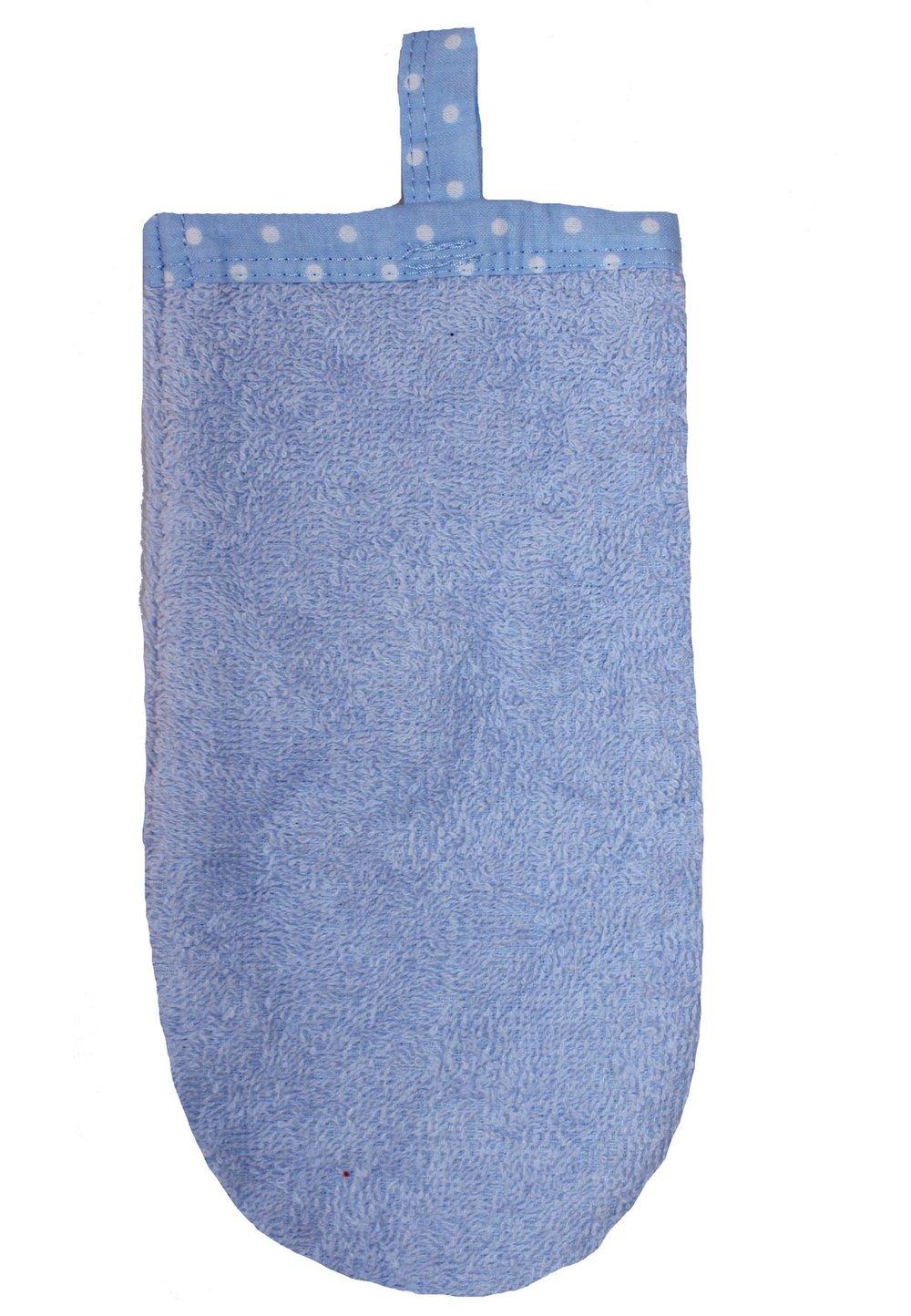 Manusa baie, albastra imagine