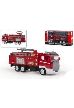 Masinuta de pompieri, rosie