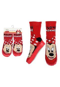 Mocasini Minnie Mouse, rosii