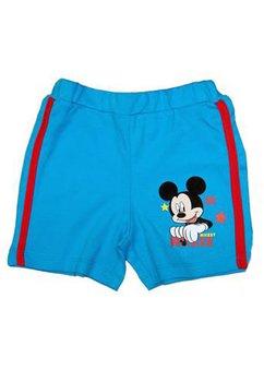 Pantalon scurt Mickey, bebe, albastru