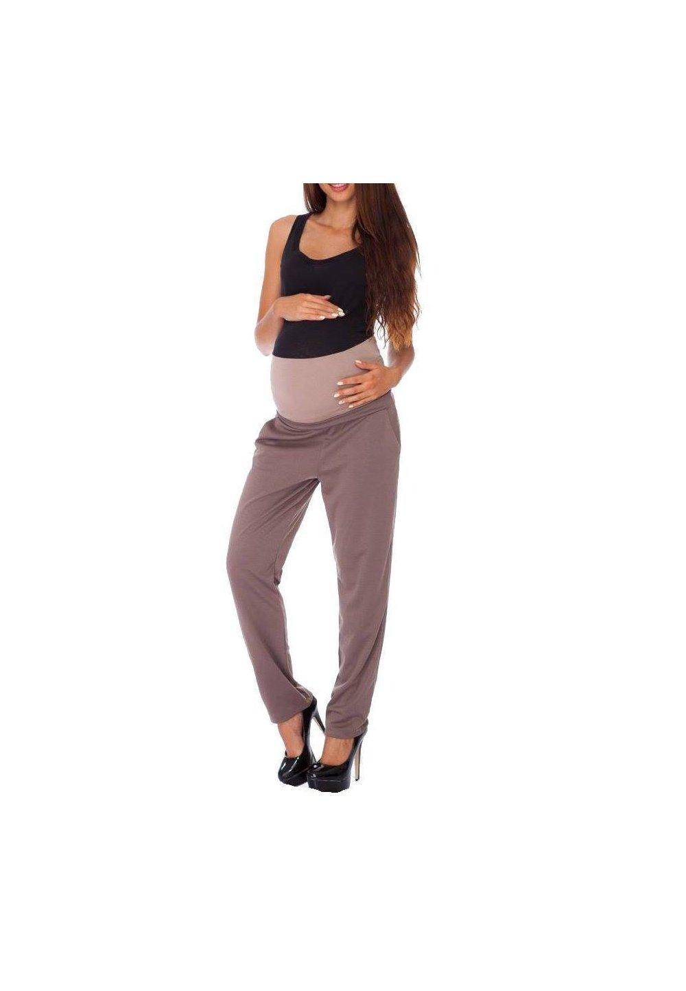 Pantaloni gravide, Pocket, Cappuccino imagine
