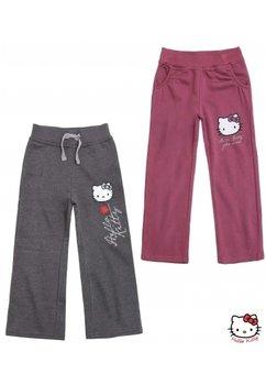 Pantaloni hello kitty gri