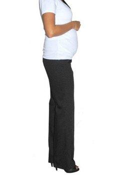 Pantaloni negri, pentru gravide, office