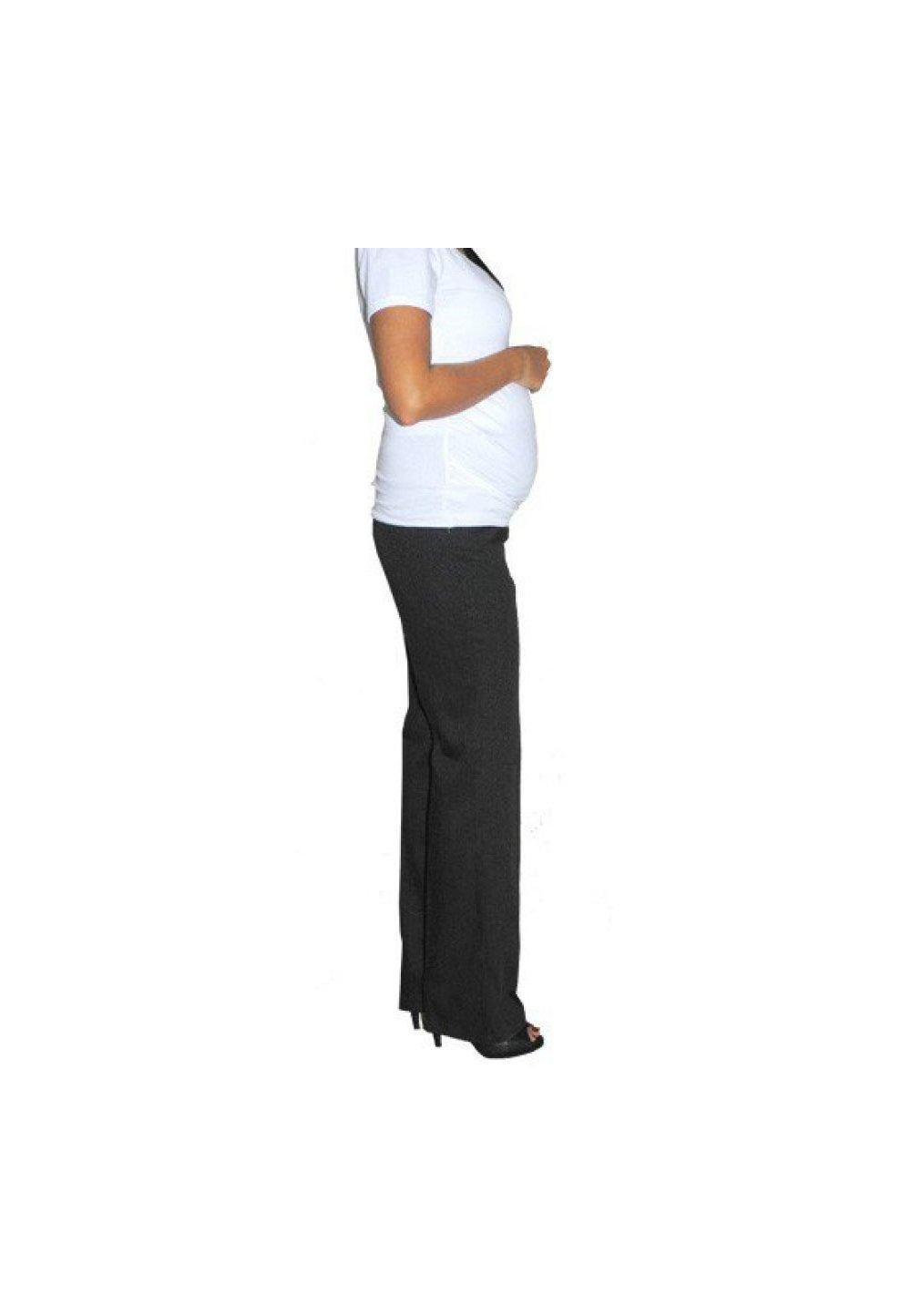Pantaloni negri, pentru gravide, office imagine