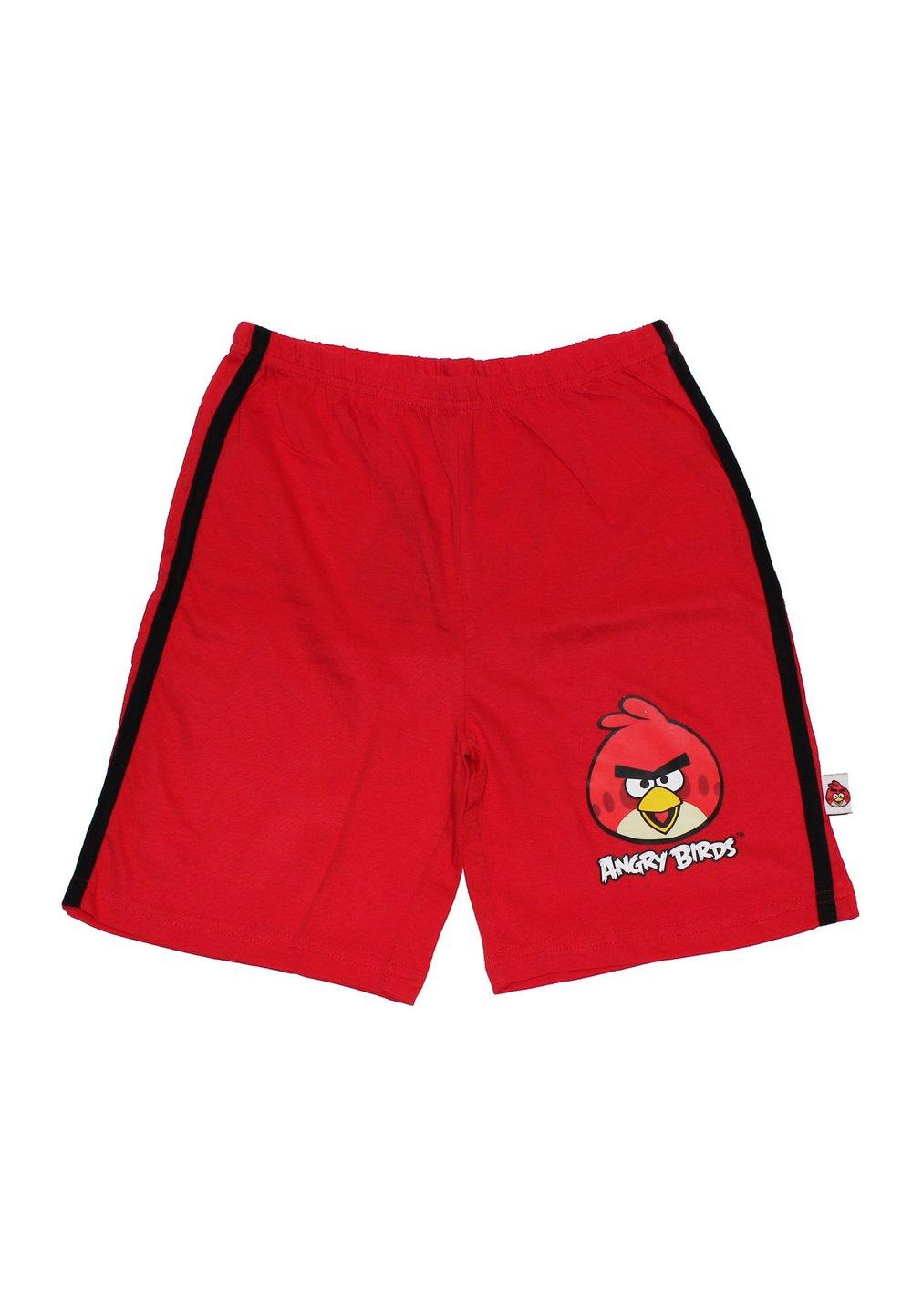 Pantaloni Scurti Angry Birds Rosii 7177