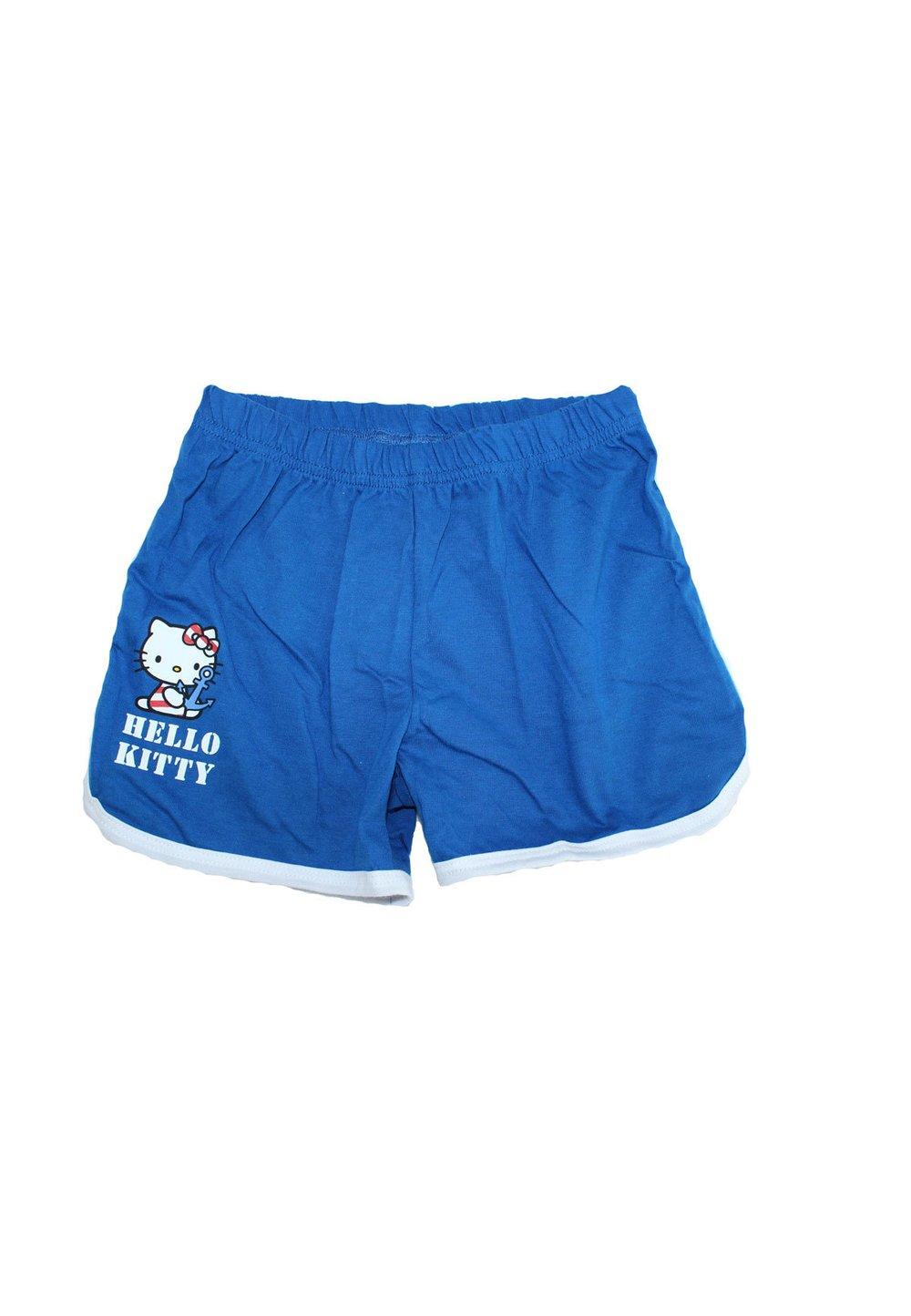 Pantaloni scurti fete, hk, albastri