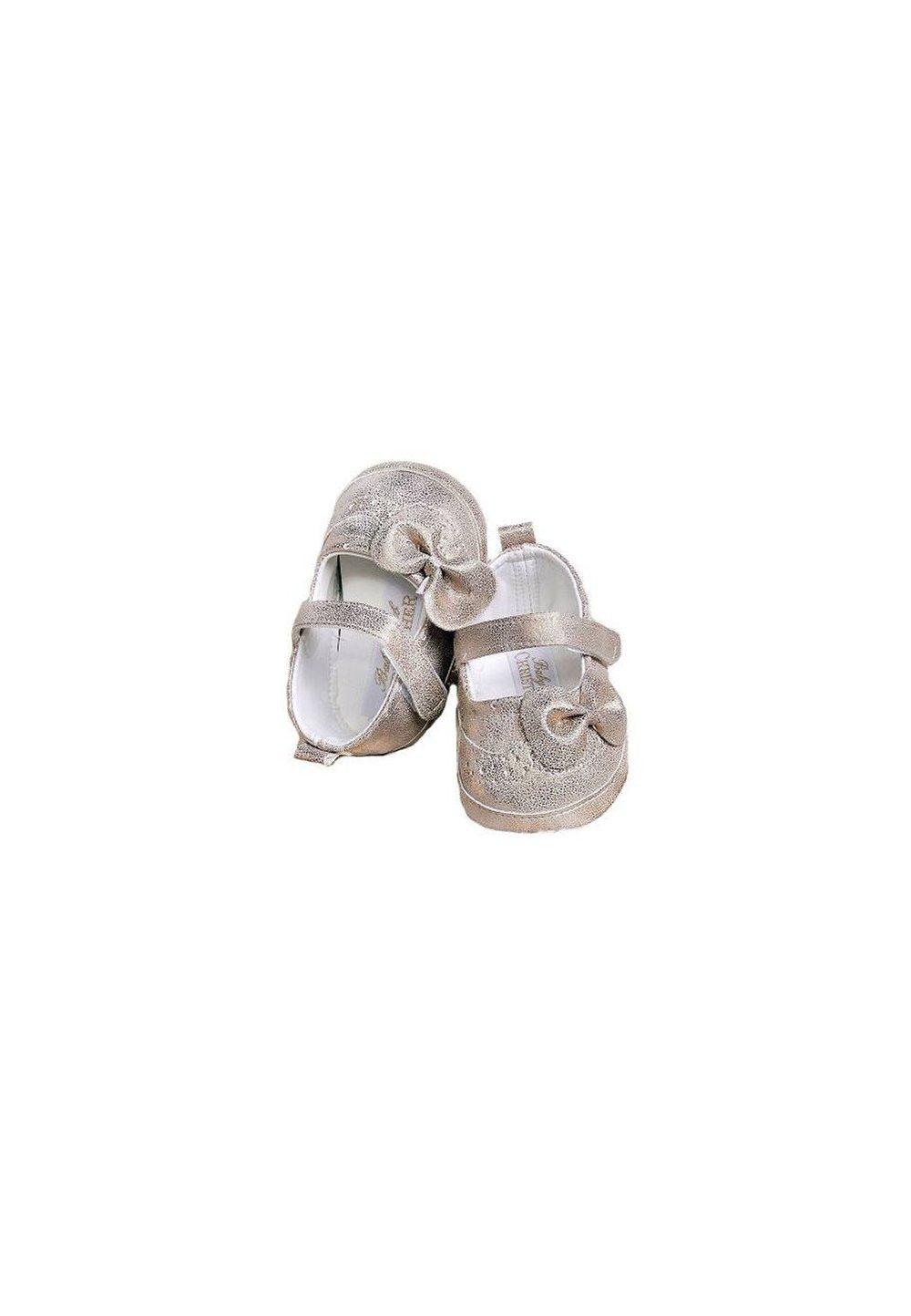 Papucei bebe, aurii imagine