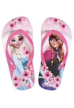 Papuci de plaja, Elsa si Anna, roz