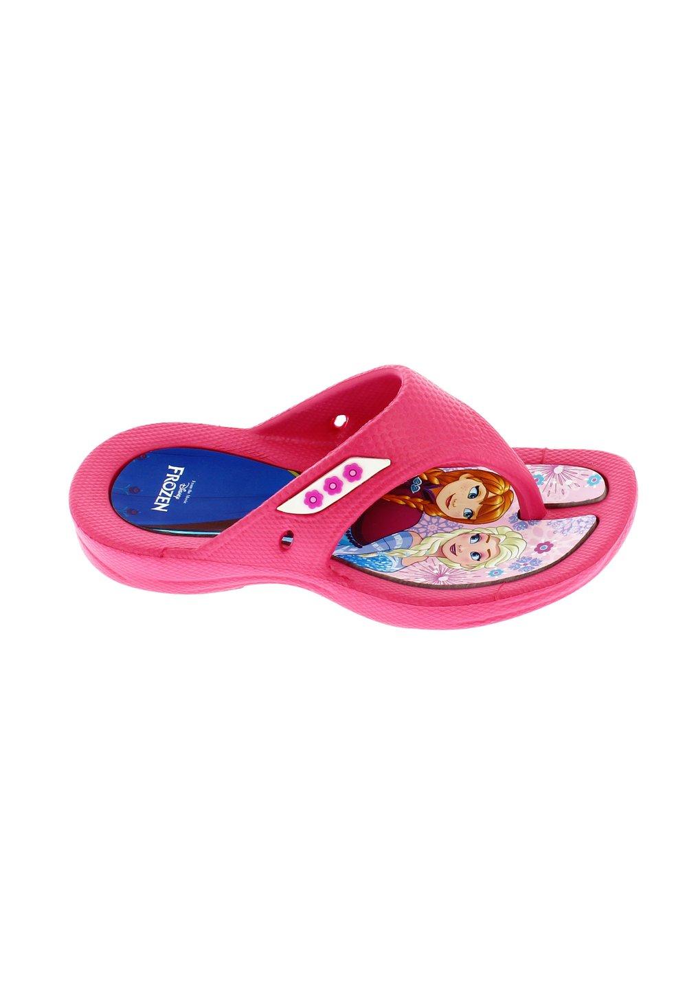 Papuci flip flop, Anna si Elsa, roz imagine