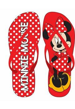 Papuci flip-flop, Minnie cu buline rosii