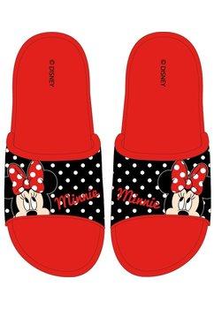 Papuci, Minnie Mouse, rosii cu buline