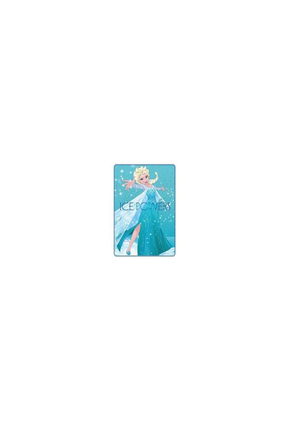 Paturica fleece, Ice powers, 100x150cm imagine