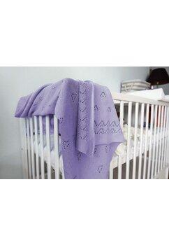 Paturica tricotata, Ana, mov, 90x90cm