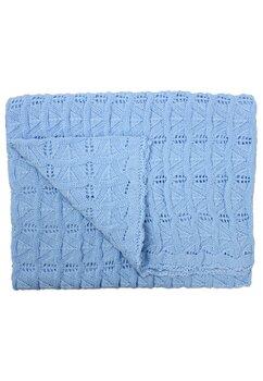 Paturica tricotata, Lola, albastra, 90x90cm