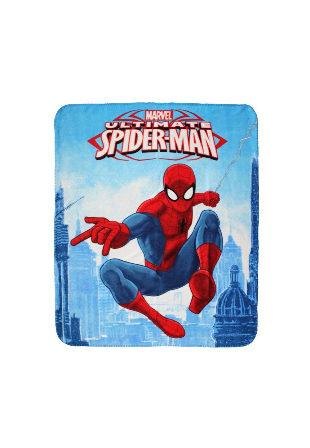 Paturica, Ultimate Spider-Man, albastra, 120x140cm imagine