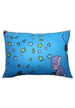 Perna, albastra cu stelute si buline, 30x40 cm