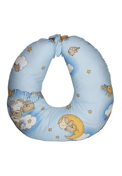 Perna de alaptat ursuletul somnoros, albastru
