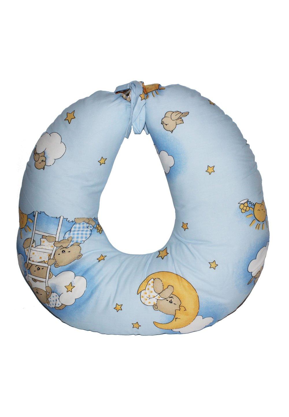 Perna de alaptat ursuletul somnoros, albastru imagine