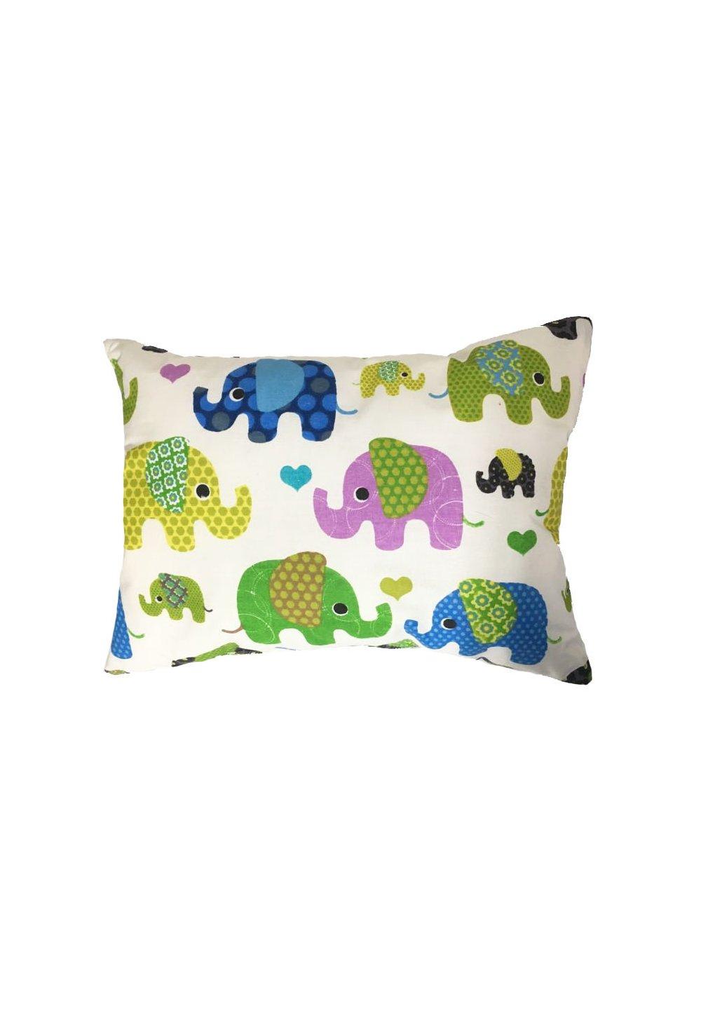 Perna, elefantei, turcoaz, 30x40cm imagine
