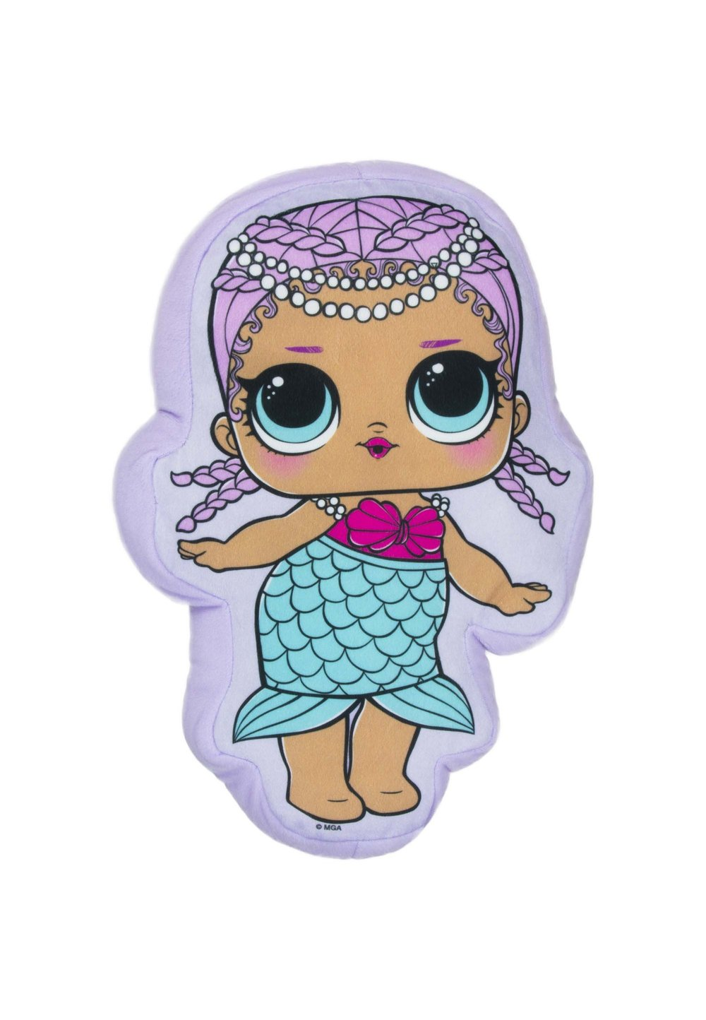 Perna Lol, sirena mov, 35x25cm imagine