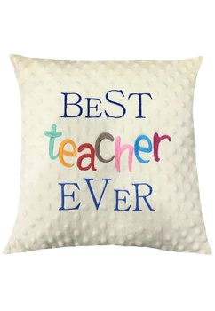 Perna minky, crem, Best teacher ever