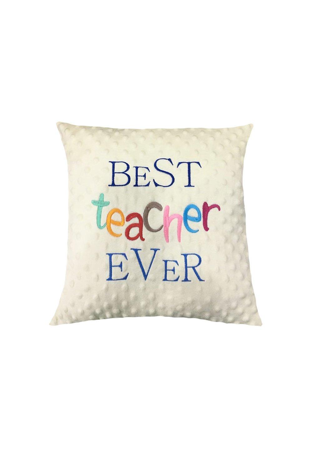Perna minky, crem, Best teacher ever imagine