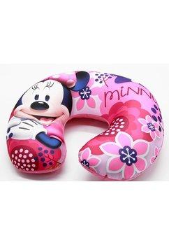 Perna pentru gat, calatorii, Minnie Mouse, roz cu flori