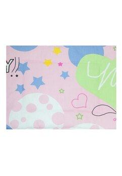Perna slim, Minnie si Mickey, roz, 37x28cm
