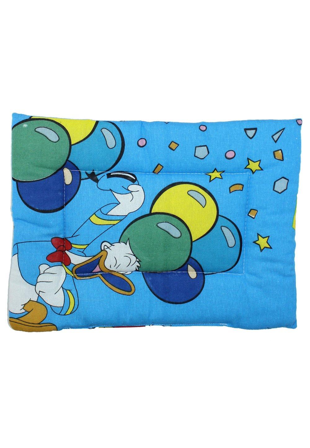 Perna slim, albastra cu buline si stelute, 37x28cm imagine