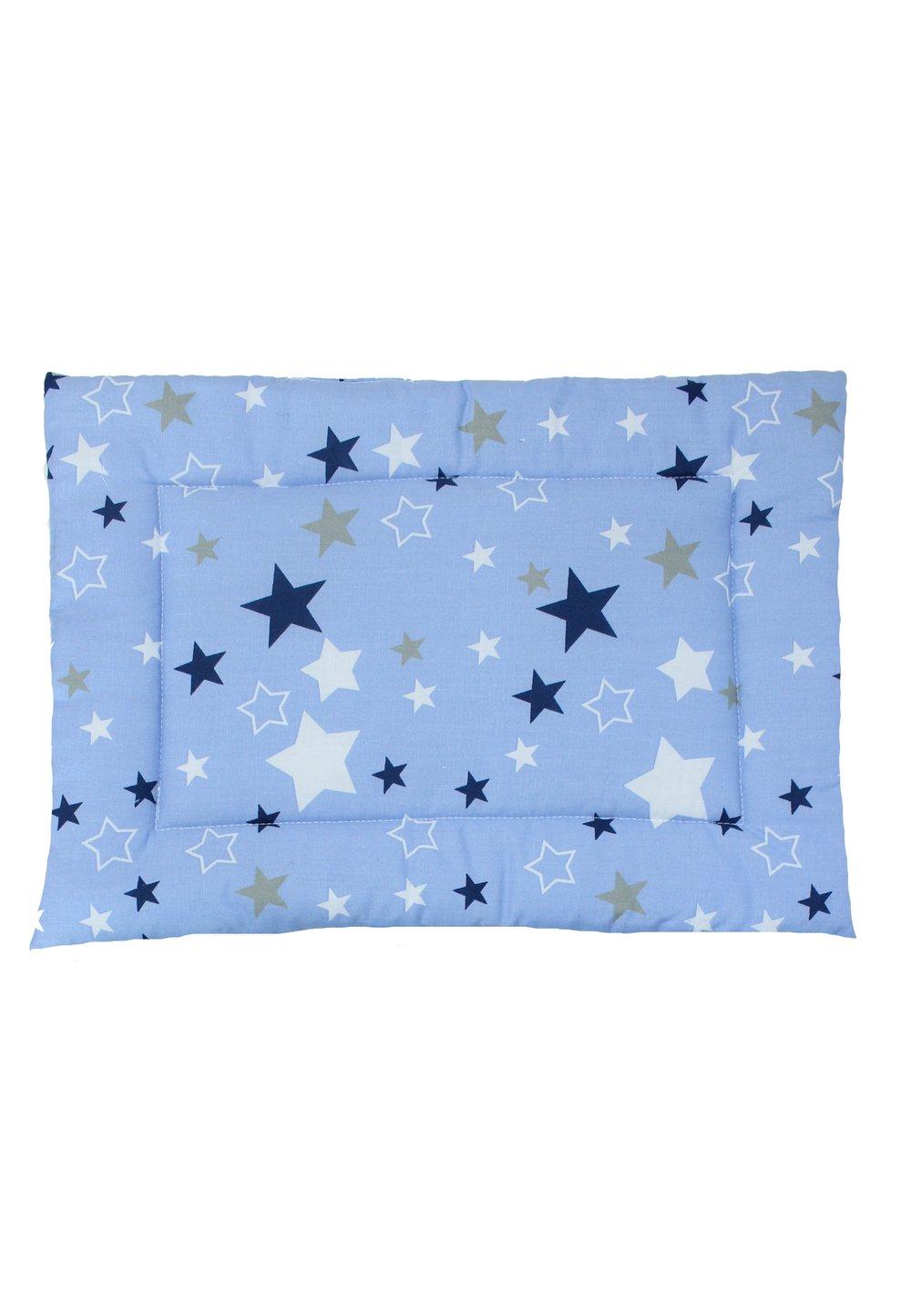 Perna slim, albastra cu stelute, 37x28cm imagine