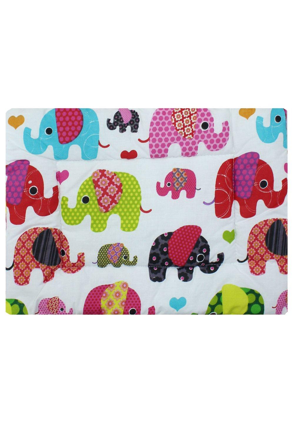 Perna slim, elefantei roz, 37x28cm imagine