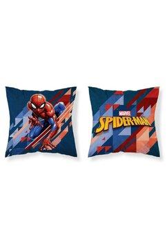 Perna, Spider Man, albastru cu rosu, 40x40 cm