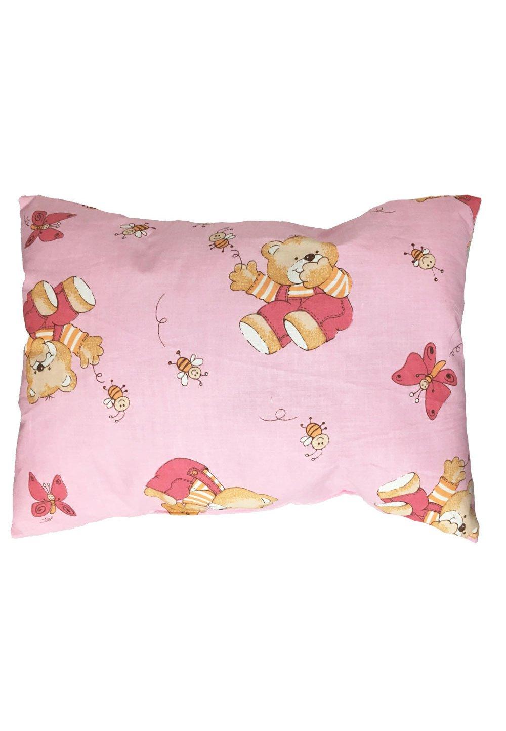 Perna, ursulet cu albinute roz, 30x40cm imagine