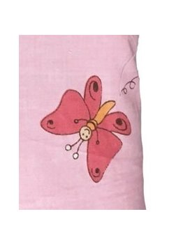 Perna, ursulet cu albinute roz, 30x40cm