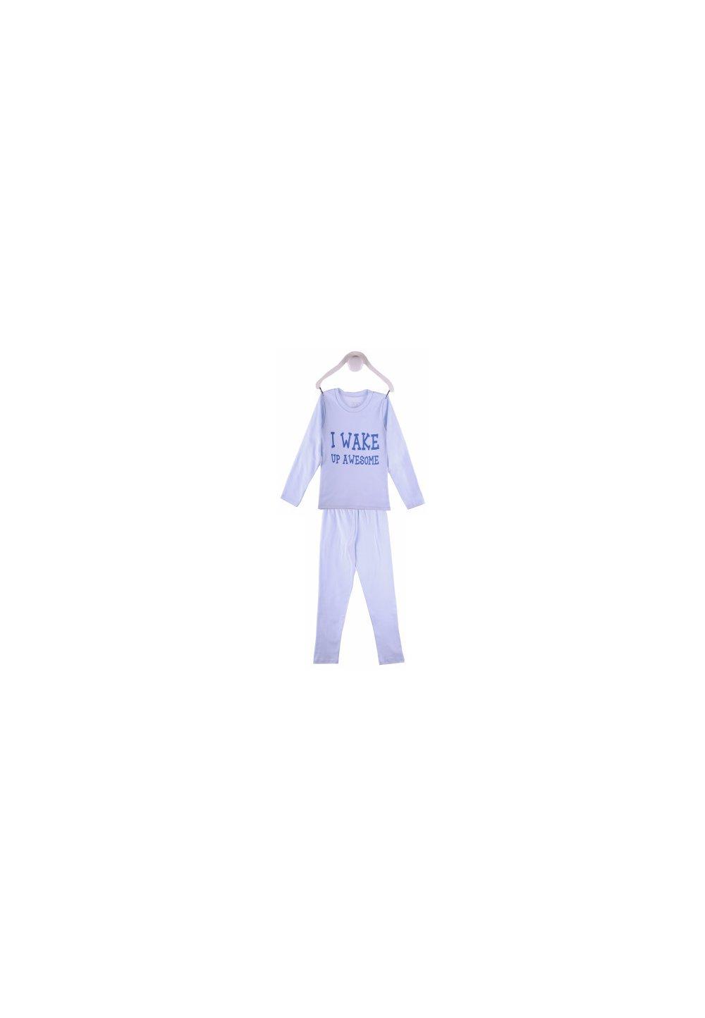 Pijama albastra baieti