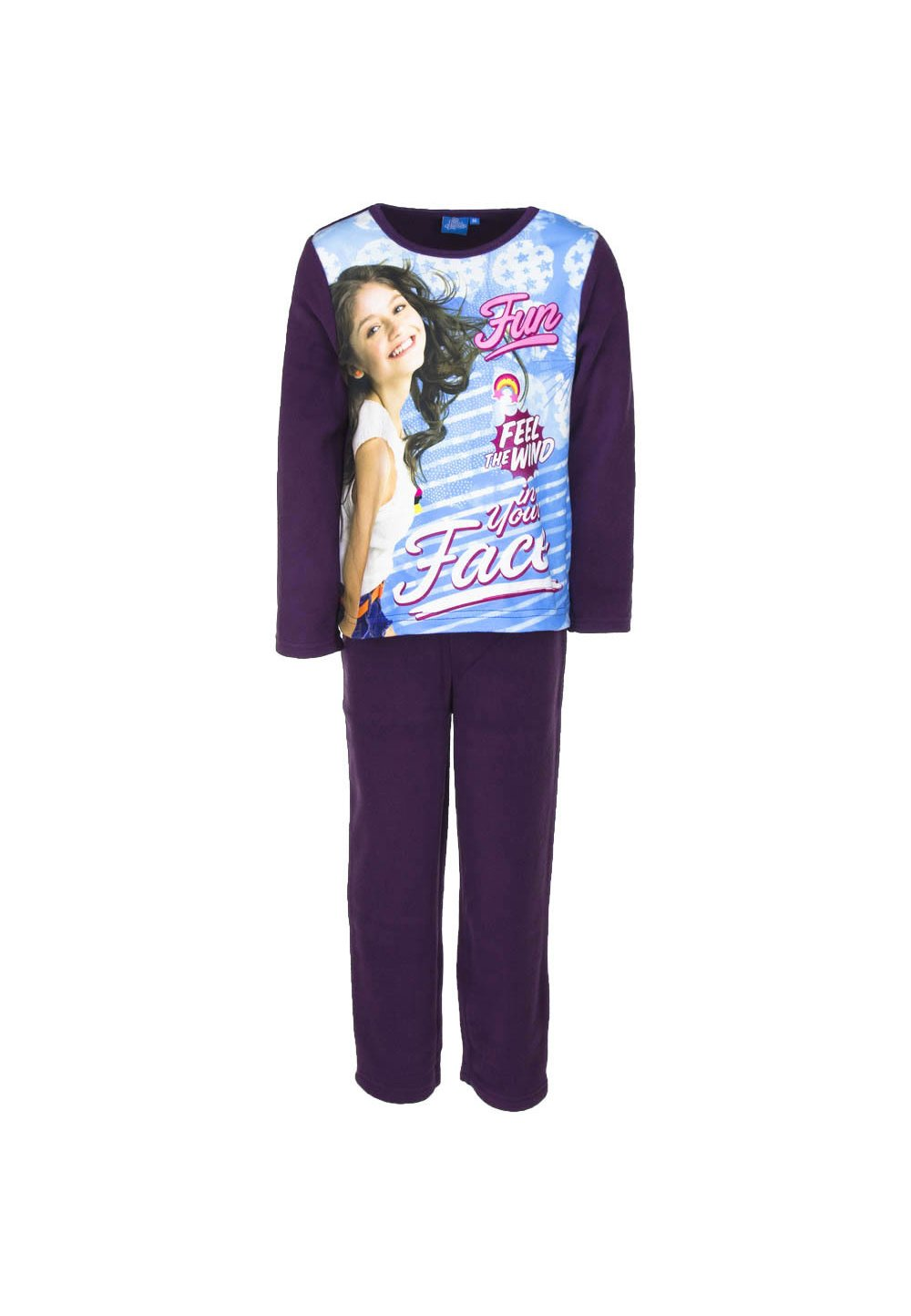 Pijama fleece, Soy Luna Fun, mov