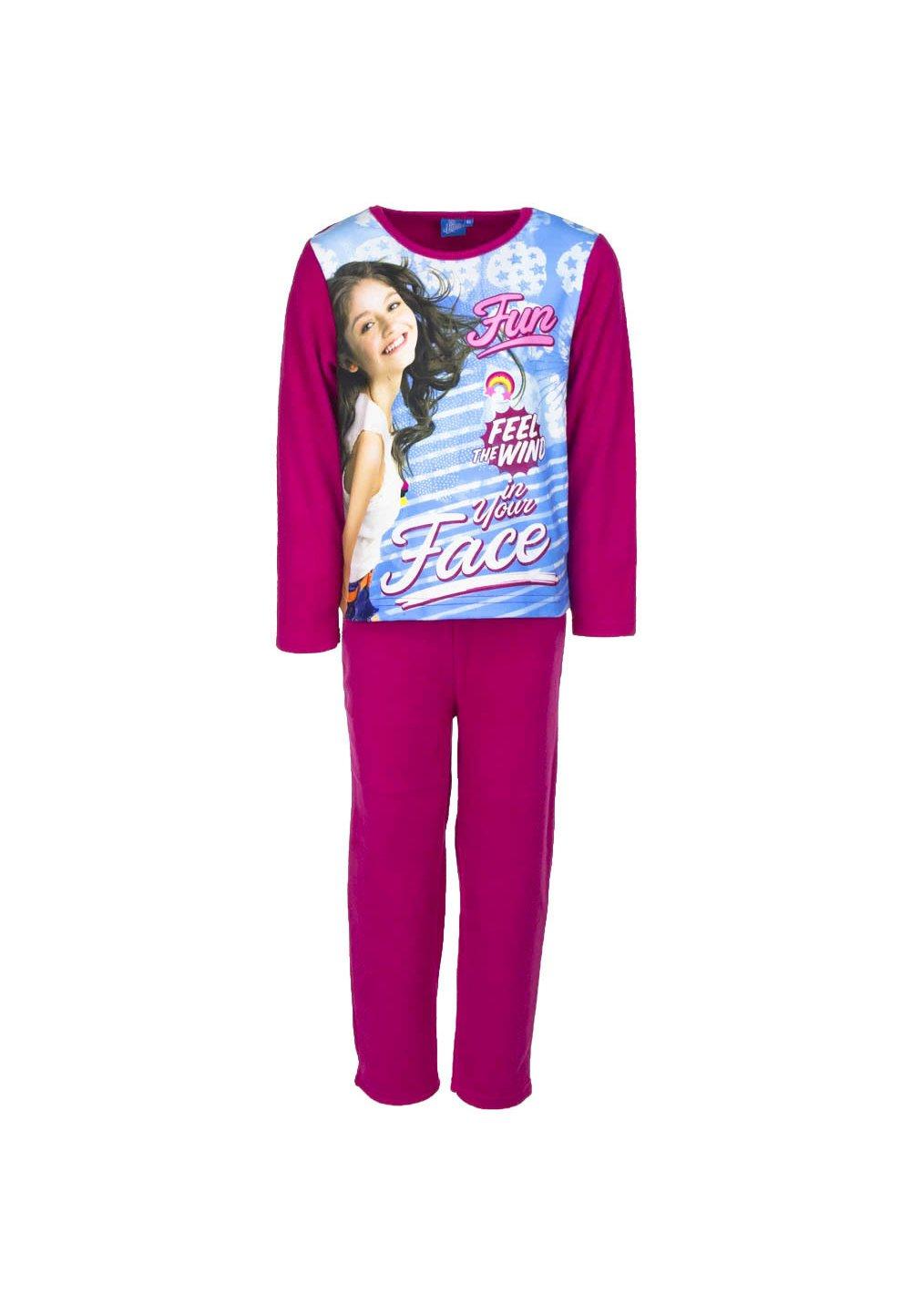 Pijama fleece, Soy Luna Fun, roz imagine