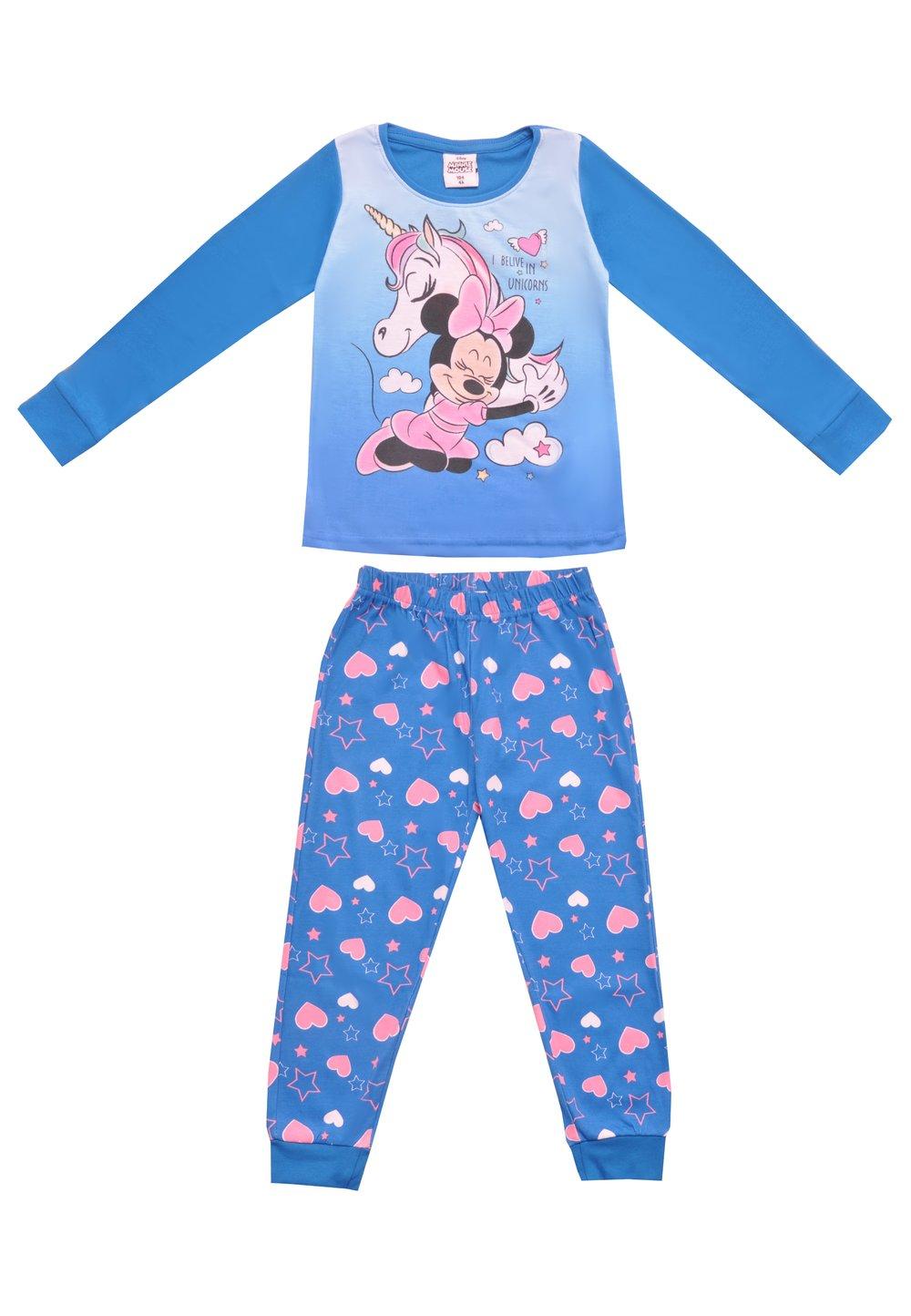 Pijama, I belive in unicorns, albastra imagine