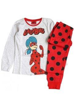 Pijama, Ladybug, gri cu buline
