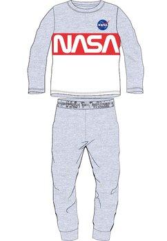 Pijama maneca lunga, Nasa, gri