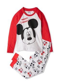 Pijama maneca lunga, Wakey wakey, rosu