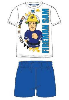 Pijama, maneca scurta, Be a hero, albastra